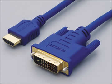 Сравнение размеров коннекторов DVI и DisplayPort