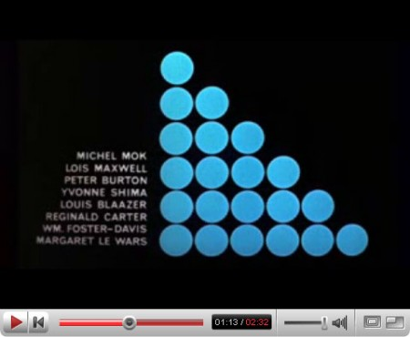 Maurice Binder, «Dr. No»
