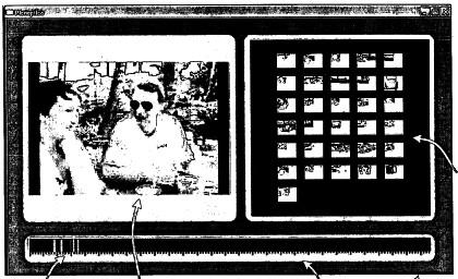 Скриншот видеобраузера Microsoft (факсимильная копия из патентной заявки)