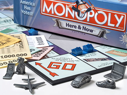Монополия настольная.