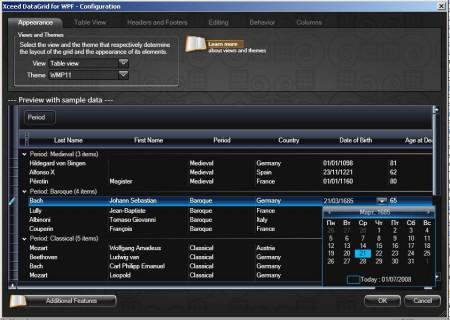 xceed datagrid configurator