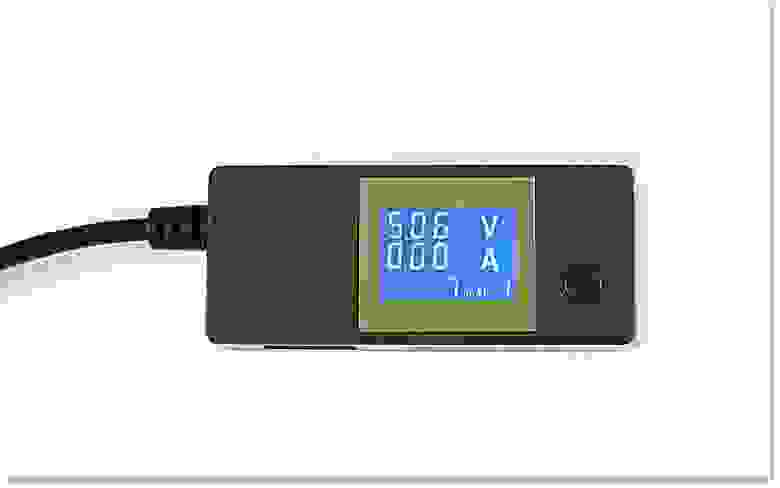 Измеритель PortaPow для определения потребляемого адаптером тока
