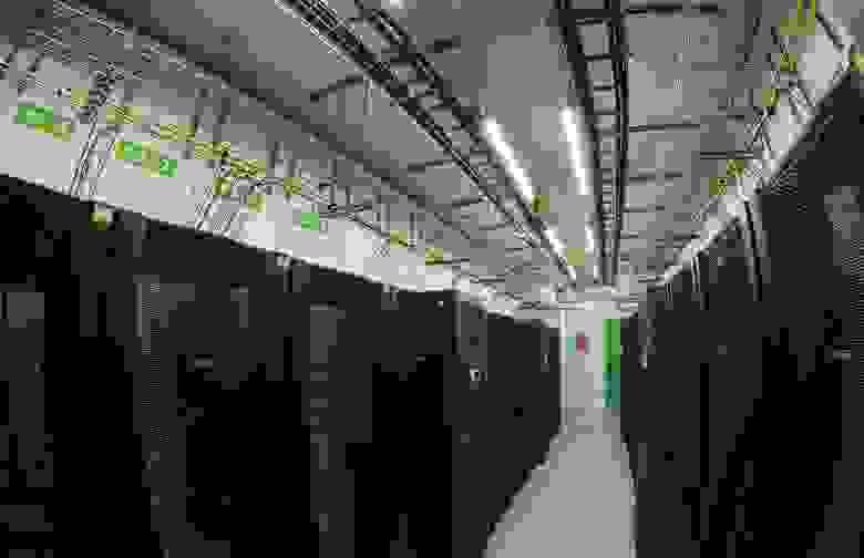 Холодный коридор МЦОД GreenMDC для ЦИТ ВО