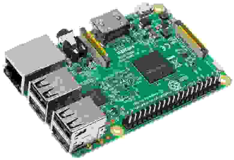 Микрокомпьютер Raspberry Pi 3 Model B