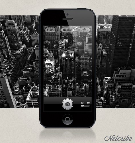 Netcribe: iPhone 5 PSD