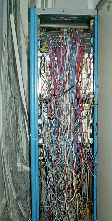 Серверная одной из компаний в Азербайджане, nag.ru