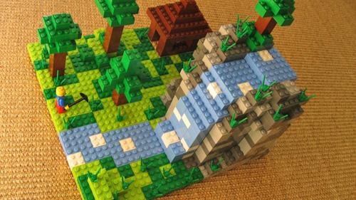Конструктор lego cuusoo #003 Minecraft