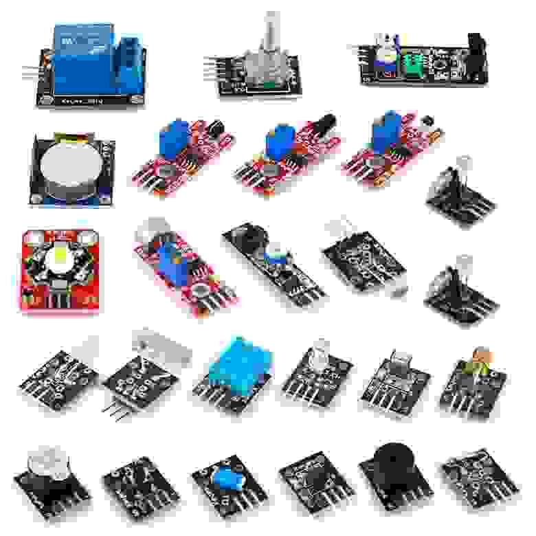 Сенсорные модули для платформы Arduino