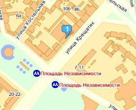 Карта проезда на конференцию PM-Labs