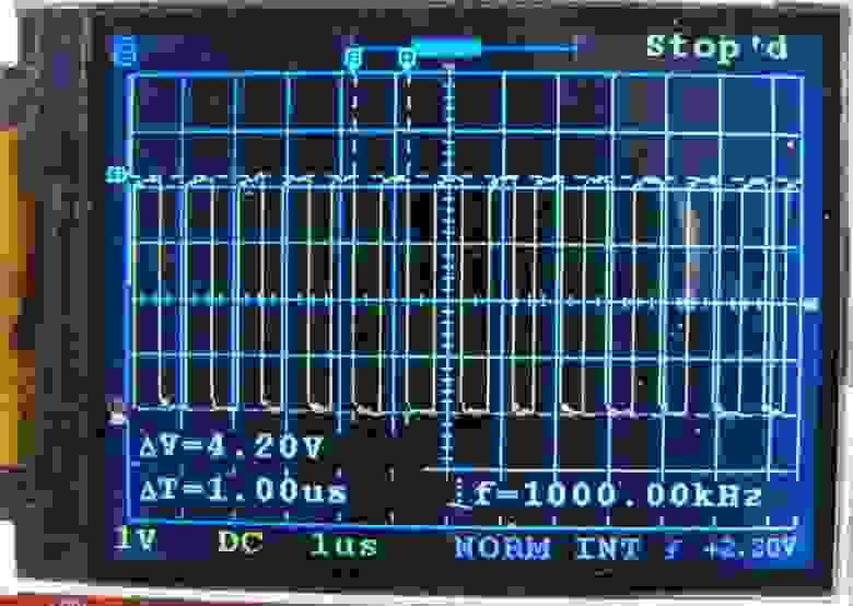 Fig.8. 1 MHz meander.