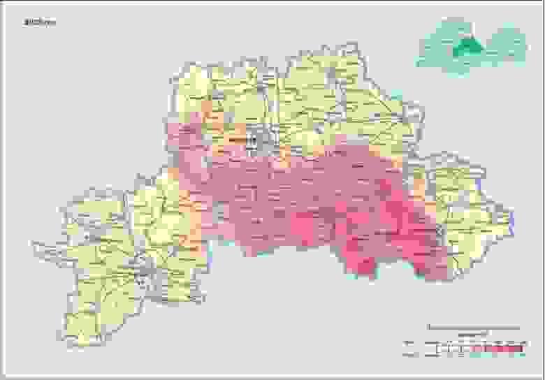 Прогноз по Цезию для Могилёвской области на 2026 г.