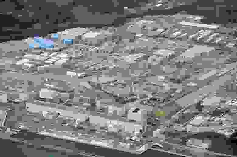 Yа площадке АЭС скопилось более 1,25 млн тонн воды
