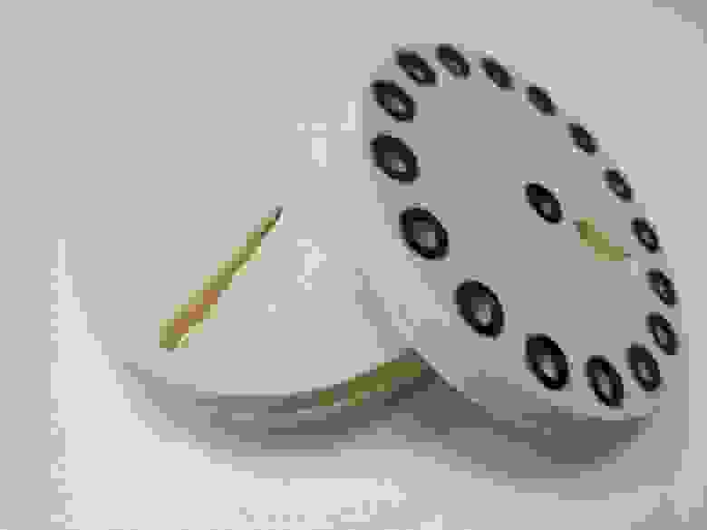 Рисунок 3. Диски ротационного клапана вживую