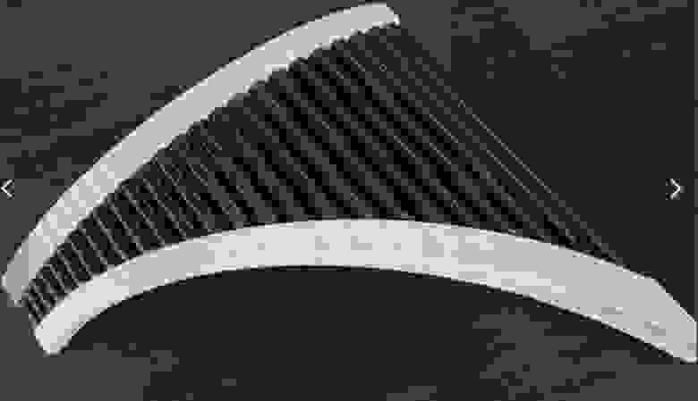 Пример целиком напечатанной панфлейты
