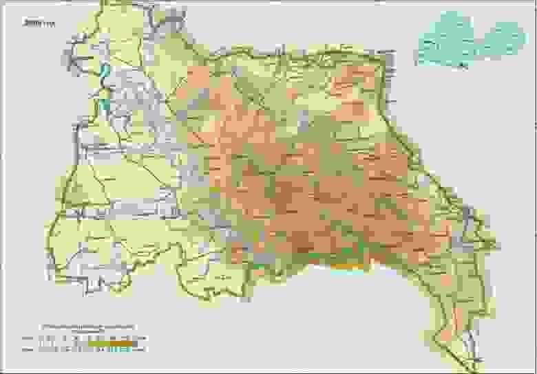 Загрязнение ПГРЭЗ стронцием-90 на 2009 год