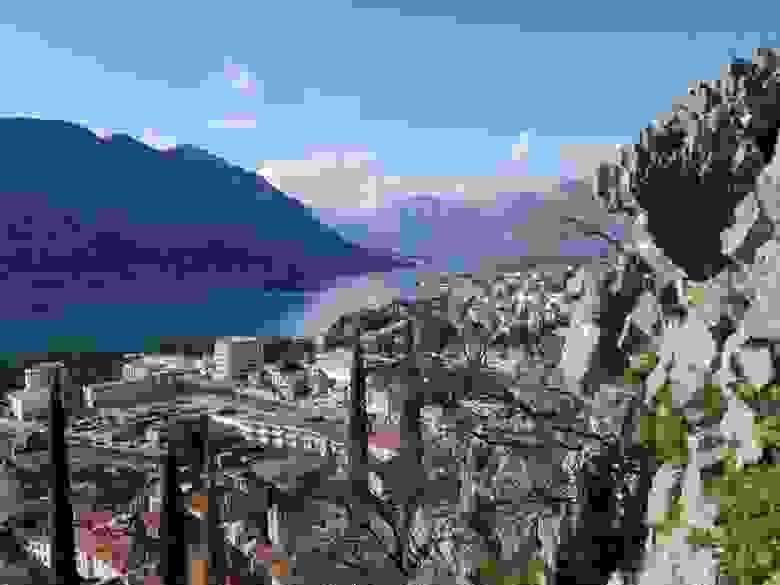 Черногория, вид на Которский залив