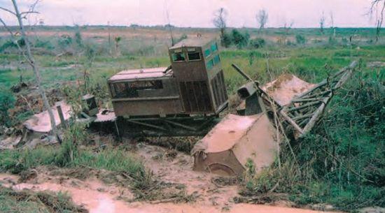 TTC в болоте