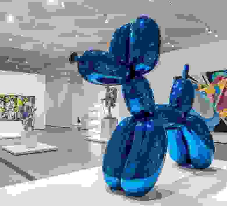 «Balloon Dog», Джефф Кунс