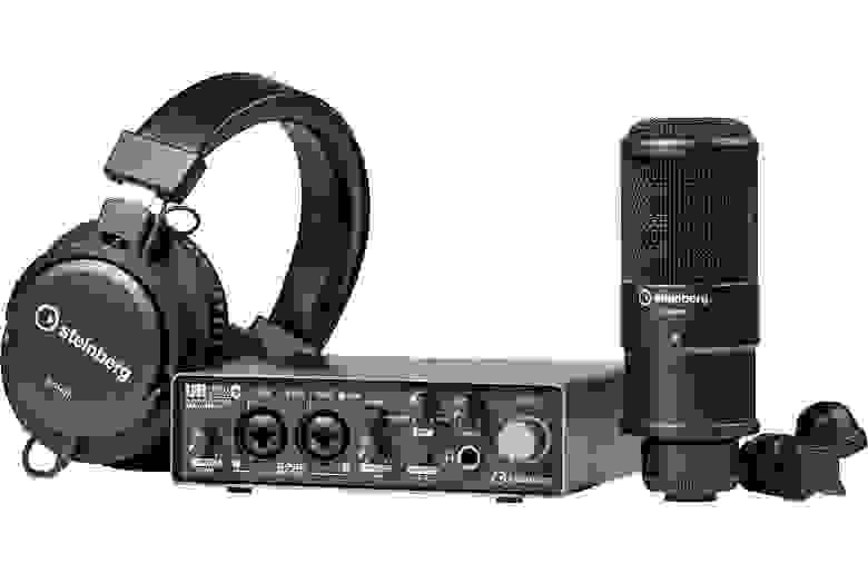 Комплект Steinberg UR22C Recording Pack — Audiomania.ru