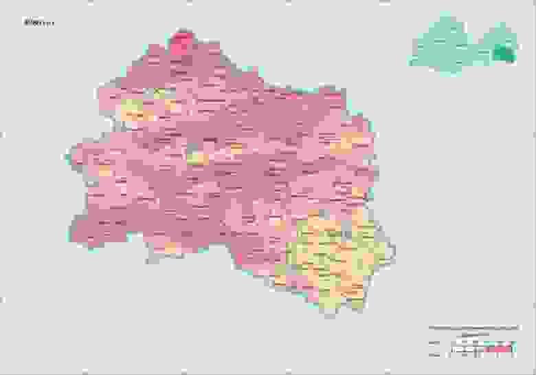 Орловская область в 1986, Цезий