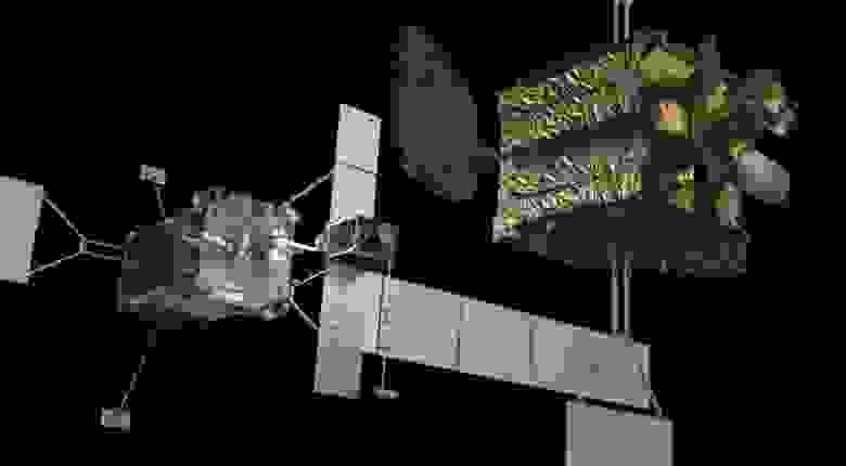 Роботизированный спутник Space Logistics будет иметь роботизированную нагрузку, разработанную Агентством перспективных исследовательских проектов Министерства обороны США.
