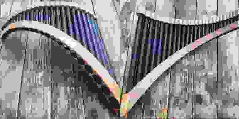 Напечатанные панфлейты