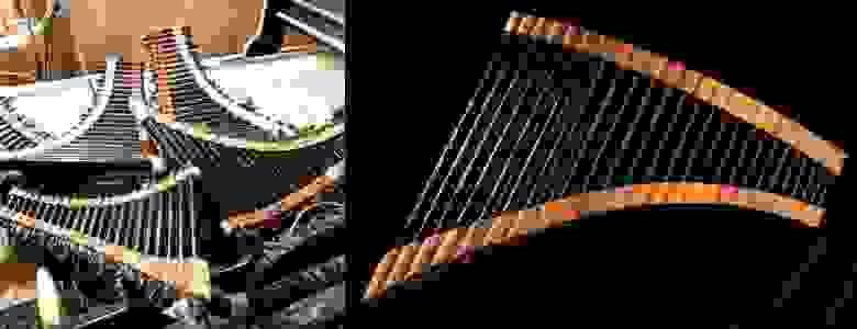 Стеклопластиковые панфлейты