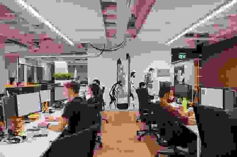 Работа в офисе до пандемии
