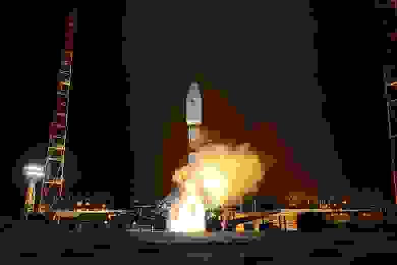 Пуск ракеты-носителя «Союз-2.1б» в феврале 2021 года