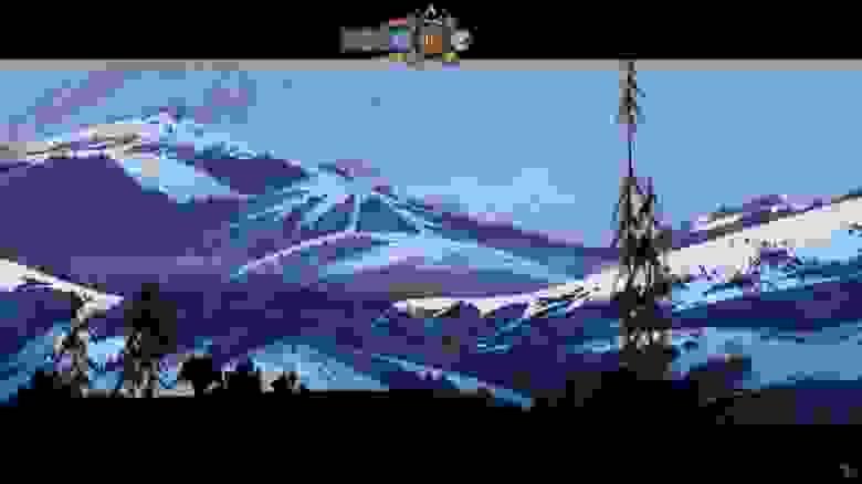 В The Banner Saga игрок управляет караваном людей, которые пытаются спастись в условиях погибающего мира