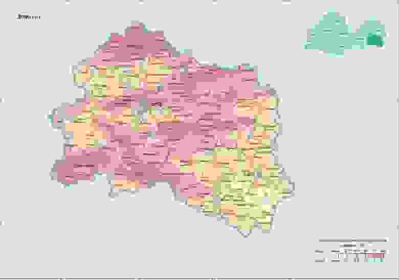 Орловская область в 2006, Цезий