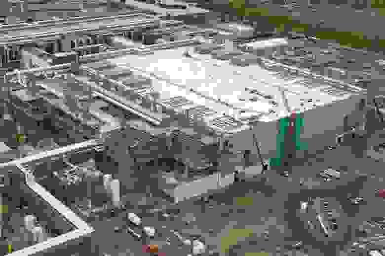 Строящийся завод в Хиллсборо. Источник: Oregonian