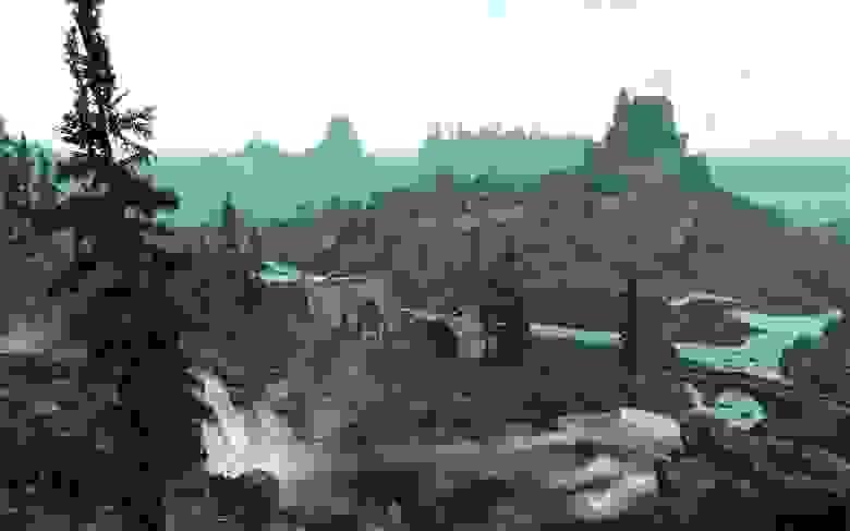 Мир The Elder Scrolls: Skyrim наполнен множеством точек интереса — если просто идти в сторону ближайшей башни-ориентира, можно наткнуться на что-нибудь занимательное
