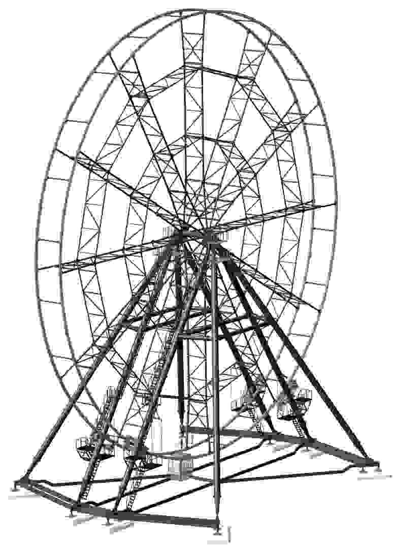 Модель колеса