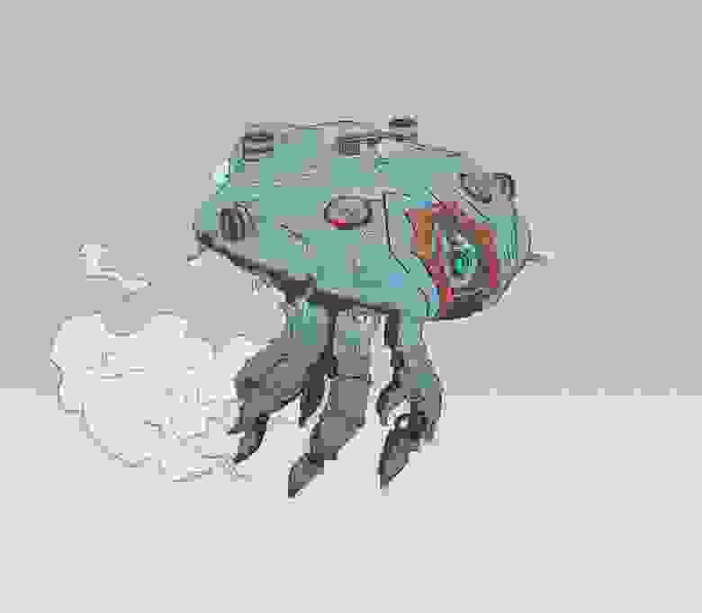Первый концепт Медузы.