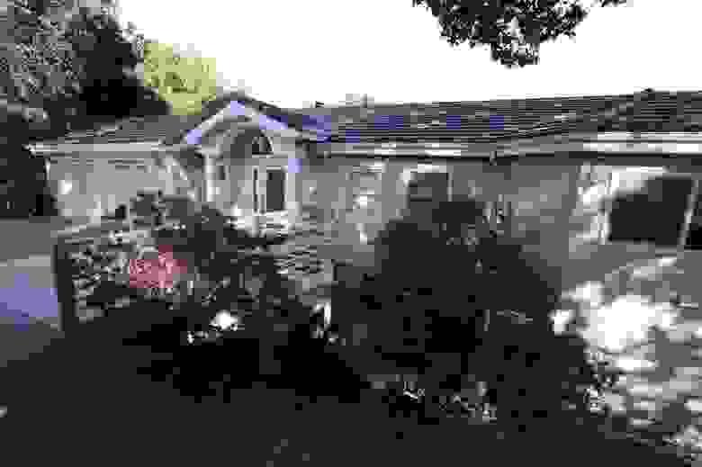 Дом в Оринде, где были застрелены пять человек.