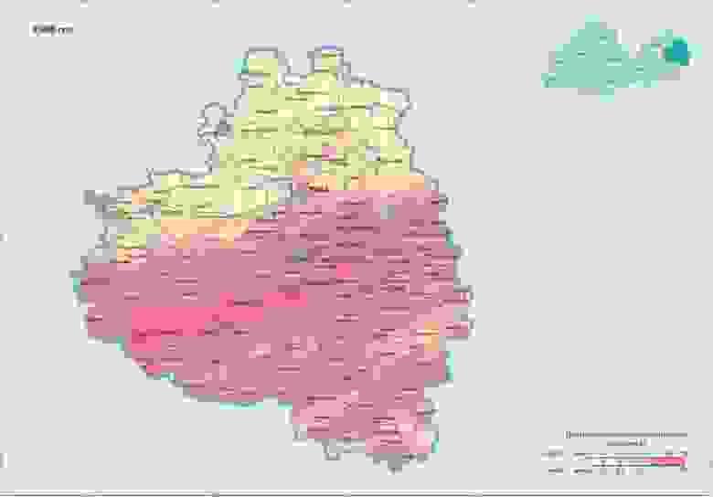 Тульская область в 1986