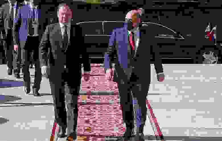 Премьер-министр Белоруссии Роман Головченко и премьер-министр РФ Михаил Мишустин © Дмитрий Астахов/POOL/ТАСС