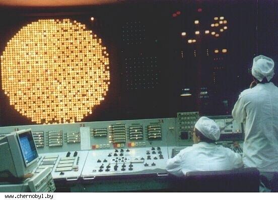 Работающий БЩУ-1 (1994 год)