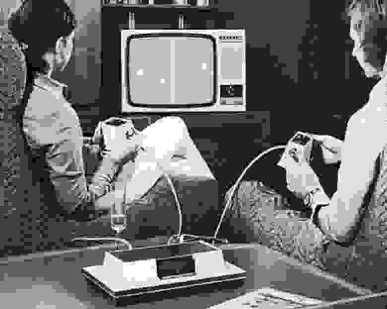 Вариант досуга для прогрессивной молодой пары 1970-х, предложенный Magnavox