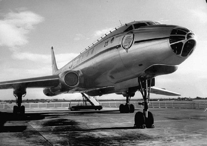 И, да, снова Ту-104