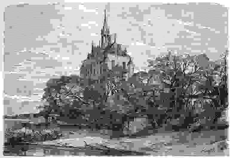Поместье Вик в 1877 году