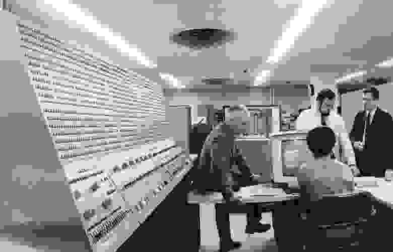 НАСА закупило несколько машин S/360, в том числя для Центра космических полетов Годдарда