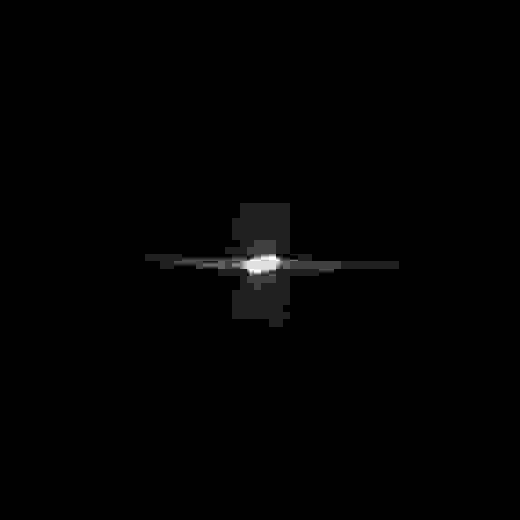 Юпитер и его спутники (слева Ганимед и Европа, справа Каллисто) 4 сентября 2021, пос. Научный, Крым, Huawei P40 Pro Plus, ISO 200, 15s