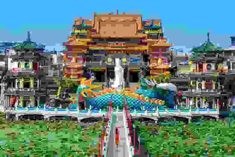 Храм, посвященный Конфуцию, в Тайване. Фото tawatchai07 @freepik.com