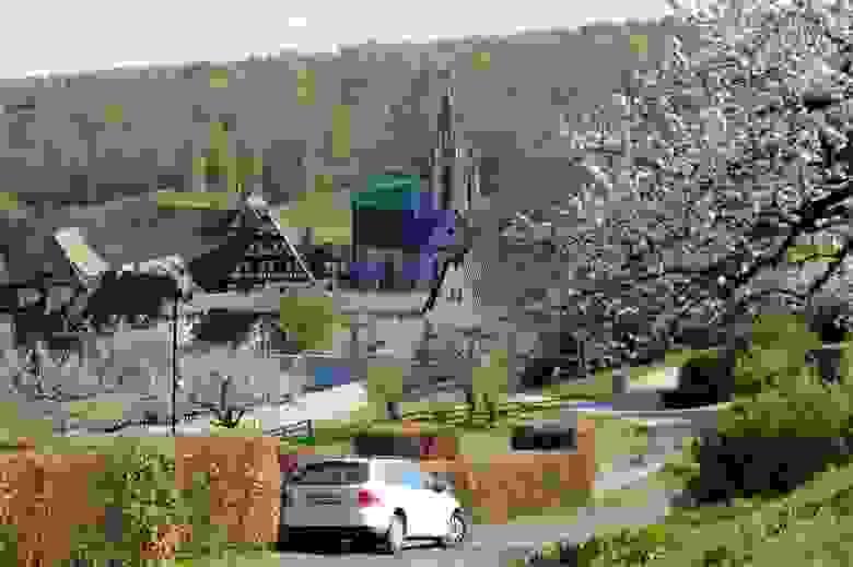 Вот такие деревни разбросаны по всей Германии