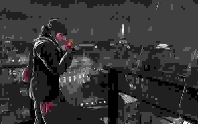 В The Saboteur действие происходит в оккупированном Париже. Чёрно-белое окружение, ночь и частые дожди превращают игру практически в нуар-детектив