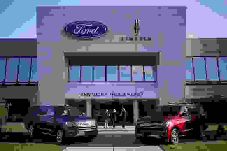 Завод Ford в Кентукки