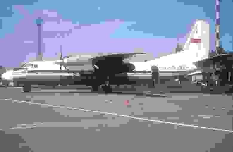 Ан-24 такой самолет Бразинскасы угнали в Турцию