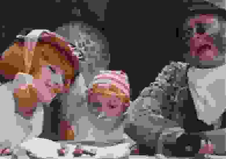 Фрагмент фильма «Приключения Буратино»